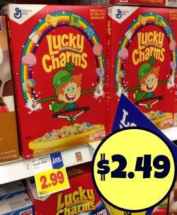 8cdc761287a New Lucky Charms Cereal Coupon - Just  2.49 At Kroger