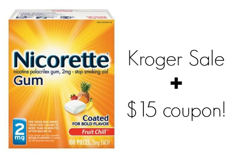 photo about Nicorette Printable Coupon named Higher Relevance Nicorette Printable Coupon Sale At Kroger