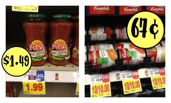 campbell's pace kroger