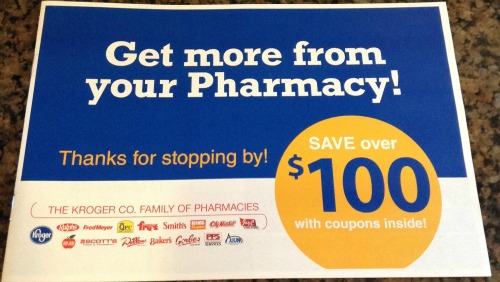 Prescription coupons kroger