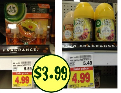 picture about Airwick Printable Coupons identify refreshing-airwick-printable-discount codes-as-very low-as-3-99 I Middle Kroger