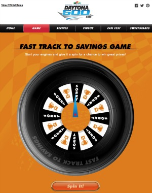 fast track to savings game