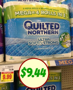 Nice Deal On Quilted Northern Toilet Paper At Kroger : quilted northern toilet paper coupons - Adamdwight.com