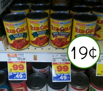 Red Gold Tomatoes Coupon I Heart Kroger
