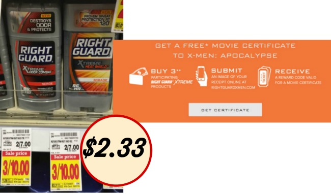 deodorant-coupons-right-guard-xtreme-free-x-men-movie-ticket-offer