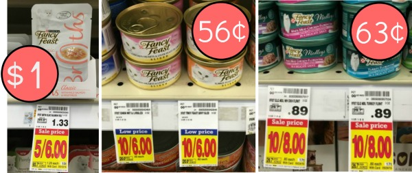 Fancy Feast Coupons - Cat Food As Low As 56¢ At Kroger