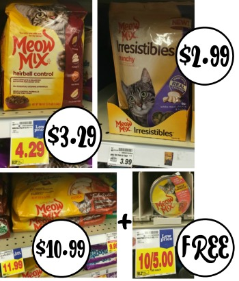 image about Meow Mix Coupon Printable named Fresh Meow Blend Printable Discount codes Promotions At Kroger