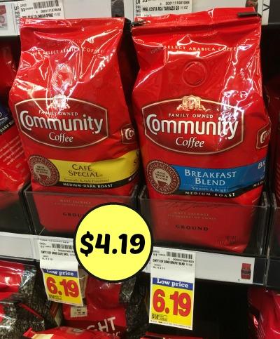 community coffee kroger