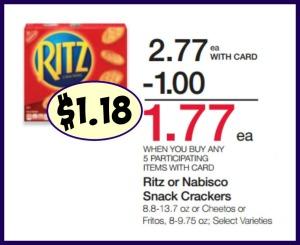 Ritz crackers coupons printable 2018