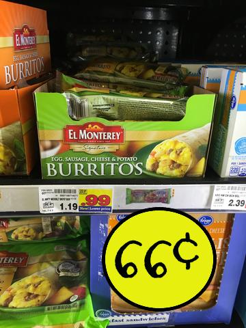 El monterey breakfast burritos coupons