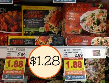 Lean cuisine coupons kroger
