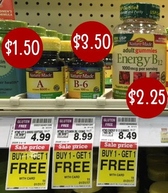 graphic about Nature Made Printable Coupons referred to as Fresh new Character Intended Printable Discount codes + BOGO Sale \u003d Vitamins and minerals As