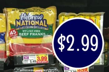 Hebrew national beef franks printable coupon