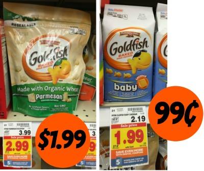 photograph regarding Goldfish Printable Coupons called Goldfish Crackers coupon I Middle Kroger