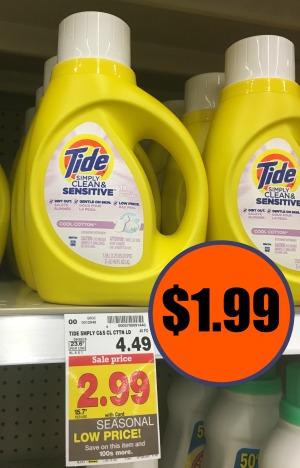 tide-simply-detergent-just-1-99-at-kroger