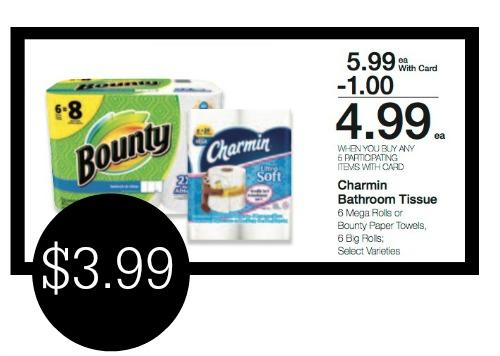 Super Deals On Charmin Amp Bounty In New Mega Sale
