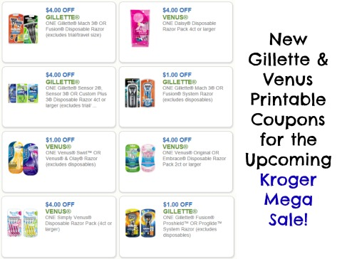 photo about Gillette Printable Coupon identified as Clean Gillette Venus Discount codes For The Long run Kroger Mega Sale