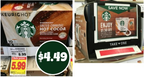 Starbucks Hot Cocoa K Cups Just 4 49 At Kroger