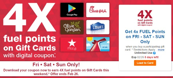 Coupons onto kroger card