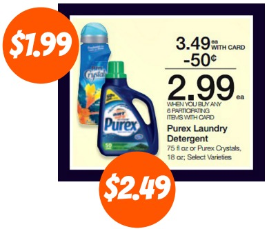 photograph regarding Purex Coupons Printable titled Contemporary Purex Discount codes For The Future Kroger Mega Sale!