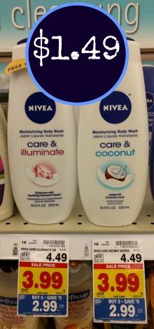 Nivea Body Wash - Just $1.49 At Kroger
