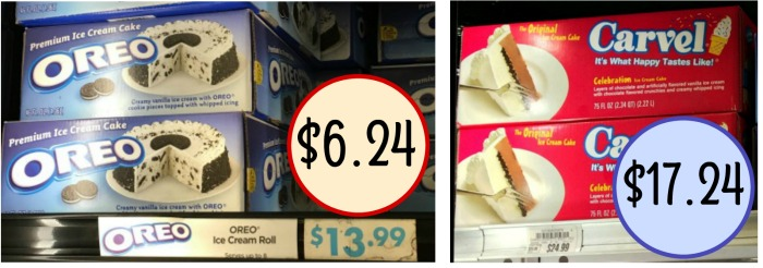 Pick Up A Super Discount On Tasty Ice Cream Cake Grab Deal Oreo Or If You Need Big Can The Carvel Sheet