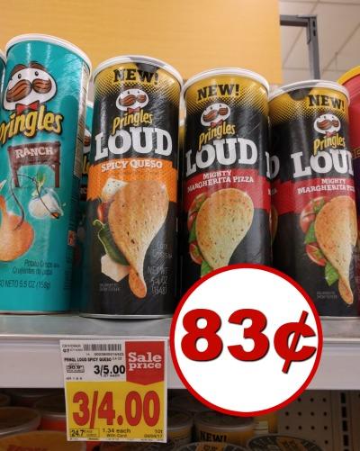 Pringles coupon I Heart Kroger