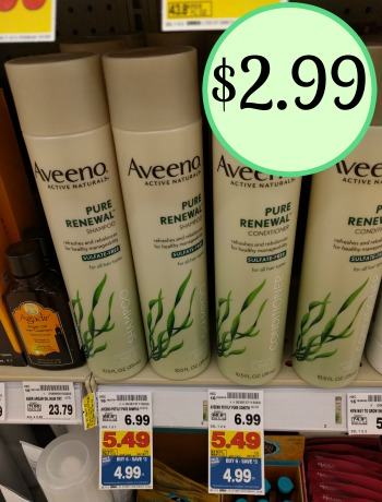 Aveeno Hair Care - Just $2.99 In The Kroger Mega Sale
