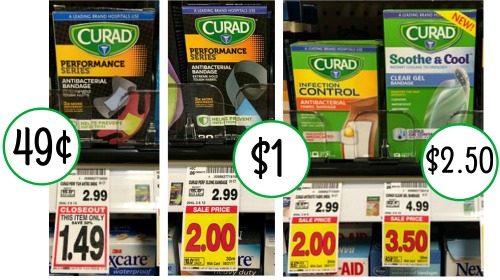 Curad Bandages As Low As 49 At Kroger