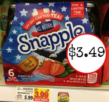 snapple coupon I Heart Kroger