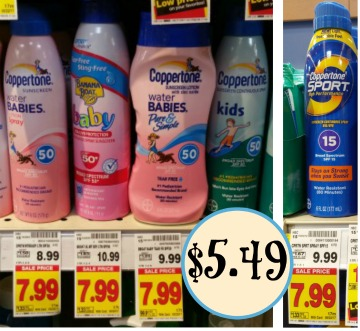 New Coppertone Coupons Sunscreen As Low 5 49 At Kroger