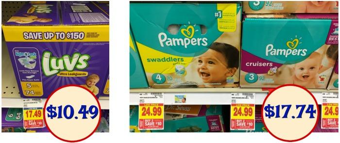 Luvs diaper coupons