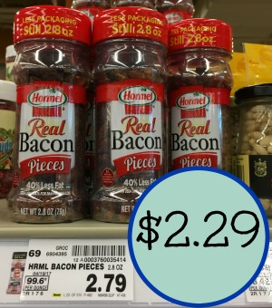 New Hormel Coupons Save On Bacon Toppings At Kroger
