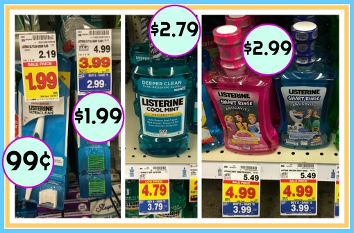 photo regarding Listerine Coupons Printable identified as Clean Listerine Discount coupons - Floss As Reduced As 99¢ At Kroger