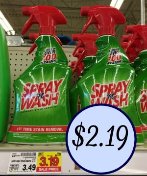Spray N Wash Stain Remover Just 2 19 At Kroger