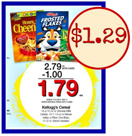 image regarding Printable Cereal Coupons named Kelloggs Cereal Merely $1.29 Within just Long run Mega Sale - Fresh