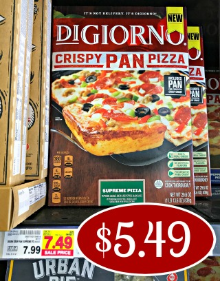 photograph relating to Digiorno Coupons Printable titled Fresh new DiGiorno Crispy Pan Pizza Coupon - Help you save Around $2 At Kroger
