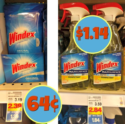 picture relating to Windex Printable Coupon titled Contemporary Windex Coupon - Wipes Exactly 64¢ Within just The Kroger Mega Sale!