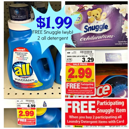 picture regarding All Laundry Detergent Printable Coupons titled Pleasant Package deal upon All Laundry Detergent Snuggle Material Softener