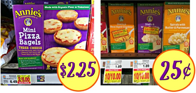 Annie's Deals - Mac & Cheese Just 25¢ At Kroger