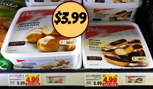 Delizza Mini Cream Puffs Just 3 99 At Kroger