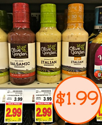 Olive Garden Salad Dressing Just At Kroger