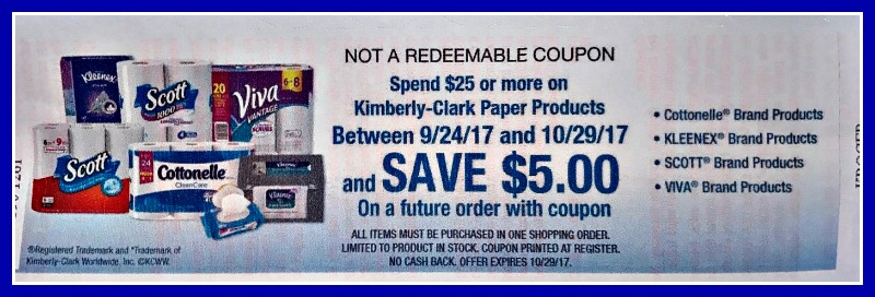 image about Viva Printable Coupon titled Kroger Catalina - Help save Upon Kimberly Clark Paper Products and solutions