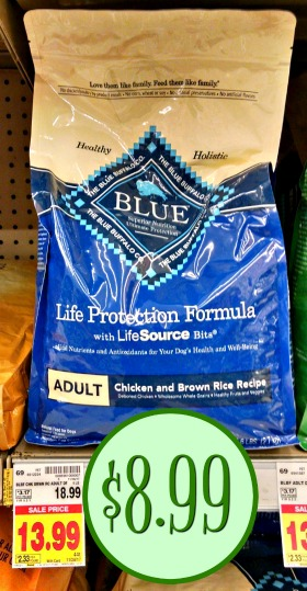 picture regarding Blue Buffalo Dog Food Coupons Printable identified as Blue Buffalo Dry Doggy Meals - Further Than 50 % Off At Kroger