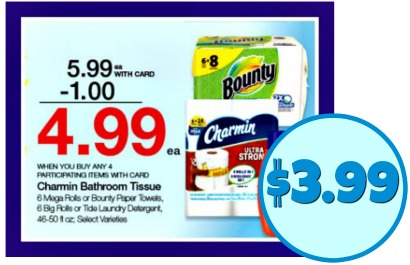 image relating to Charmin Coupon Printable named Clean Bounty Charmin Discount codes For The Future Kroger Mega Sale