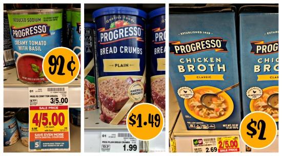 photo regarding Printable Progresso Soup Coupons identified as progresso soup I Middle Kroger