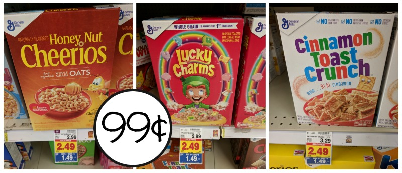 image regarding General Mills Coupons Printable named Overall Mills Cereal Accurately 99¢ At Kroger - Fresh Printable Coupon!