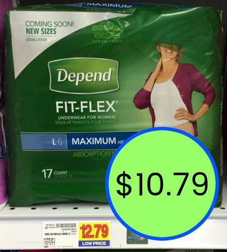 photograph relating to Depends Coupons Printable titled Refreshing Rely Coupon codes - Help you save At Kroger