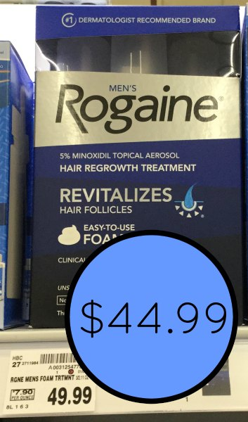 picture about Printable Rogaine Coupon identified as Clean Rogaine Coupon - Preserve At Kroger