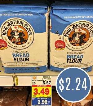 photo about King Arthur Flour Printable Coupon called King Arthur Flour Just $2.24 At Kroger